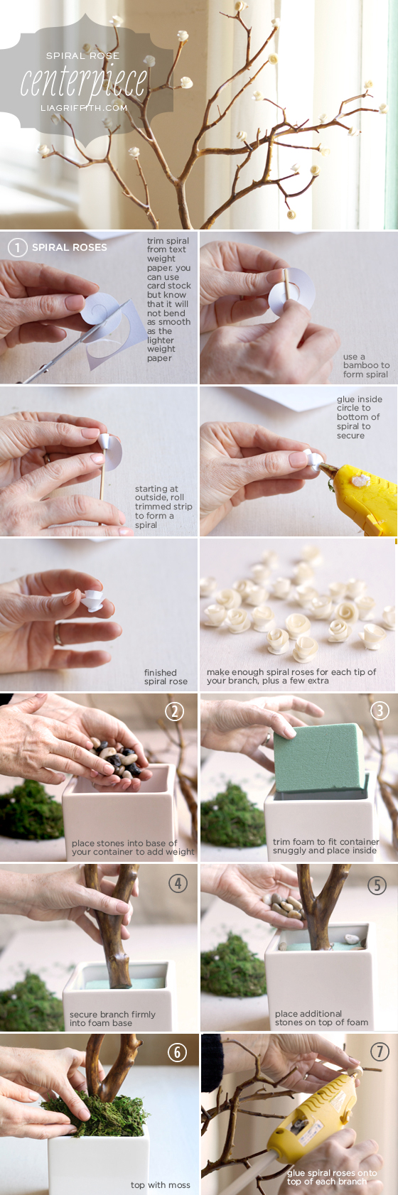 diy how to make a flower paper3