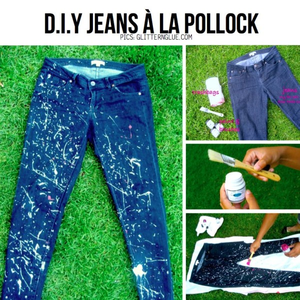 diy old denim jeans makeover