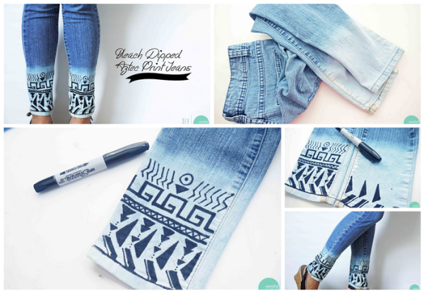 14 mind blowing diy recycle old jeans projects and ideas for Como reciclar ropa interior