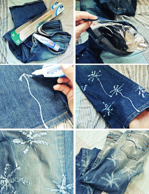 diy recycle reuse repurpose old denim jeans1