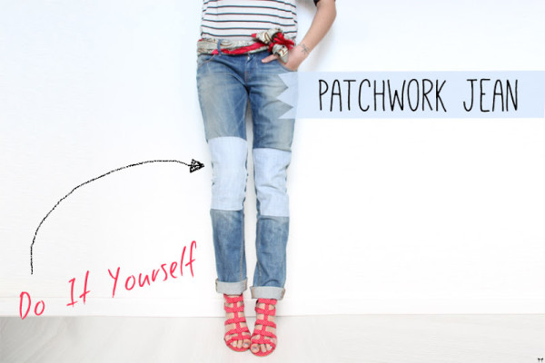 diy recycle reuse repurpose old denim jeans5