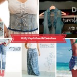 14 Mind Blowing DIY Recycle Old Jeans Projects And Ideas