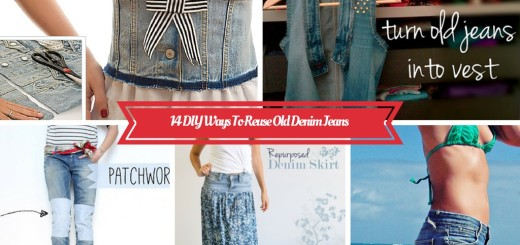 diy-recycle-upcycle reuse-old-denim-jeans ideas