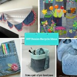 7 DIY New Ways To Recycled Clothing – Denim: Part 2