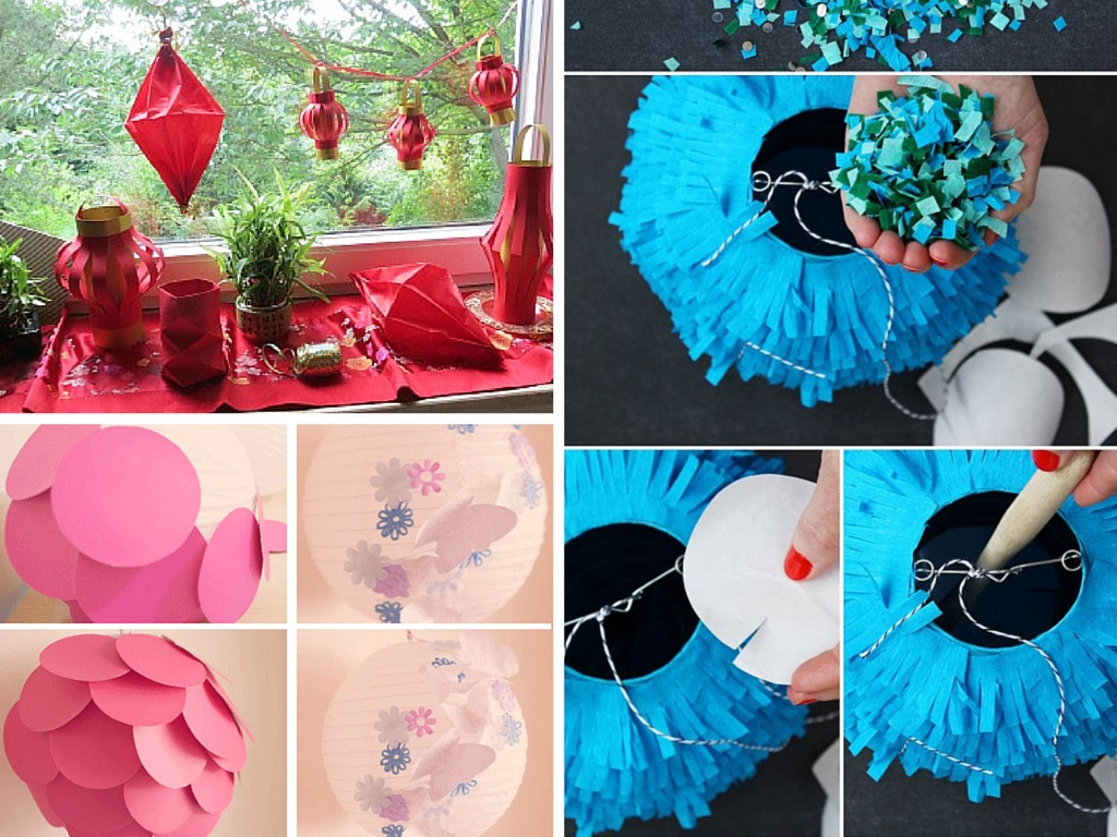 4 DIY Ways to Create Beautiful Handmade Paper Lanterns: Part 4