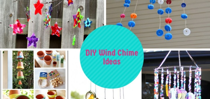 6 Interesting DIY Wind Chimes Ideas To Try This Summer: Part 1 -