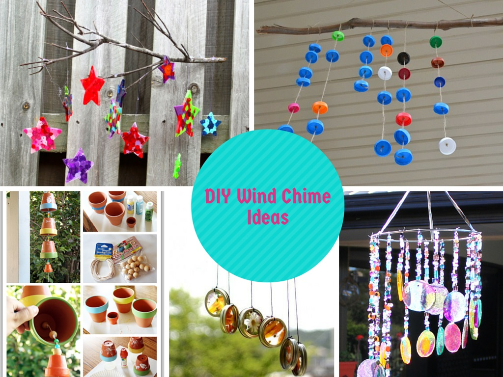 6 interesting diy wind chimes ideas to try this summer for Wind chime ideas