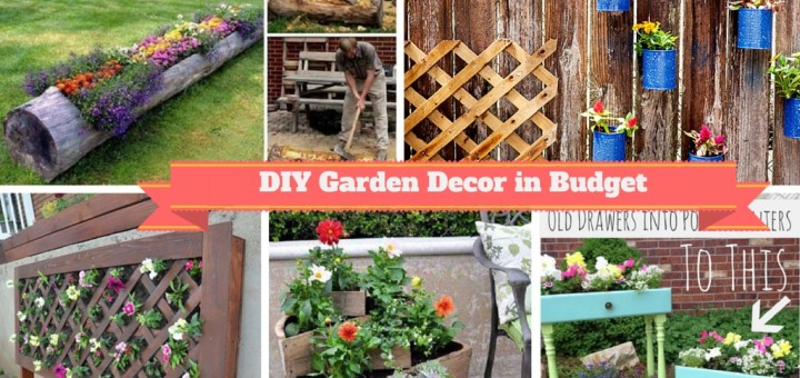 low budget diy garden pots containers planters