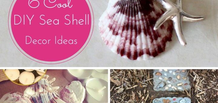 6 Cute Seashell Crafts Ideas Its O Much Fun Part 1