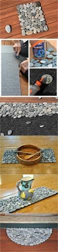 DIY Doormat and Bathmat Ideas 1