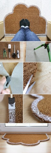 DIY Doormat and Bathmat Ideas