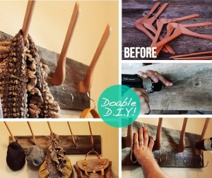 DIY decorative wall hooks 2