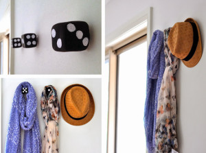 DIY decorative wall hooks 6