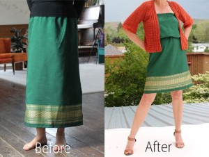 NO SEW clothing alterations 7
