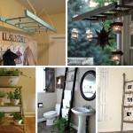 7 Fun DIY Ways to Repurpose and Reuse Vintage Ladders