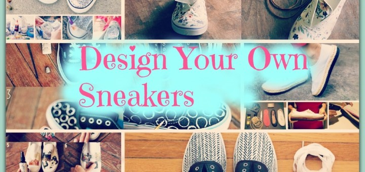 design your own shoes diy