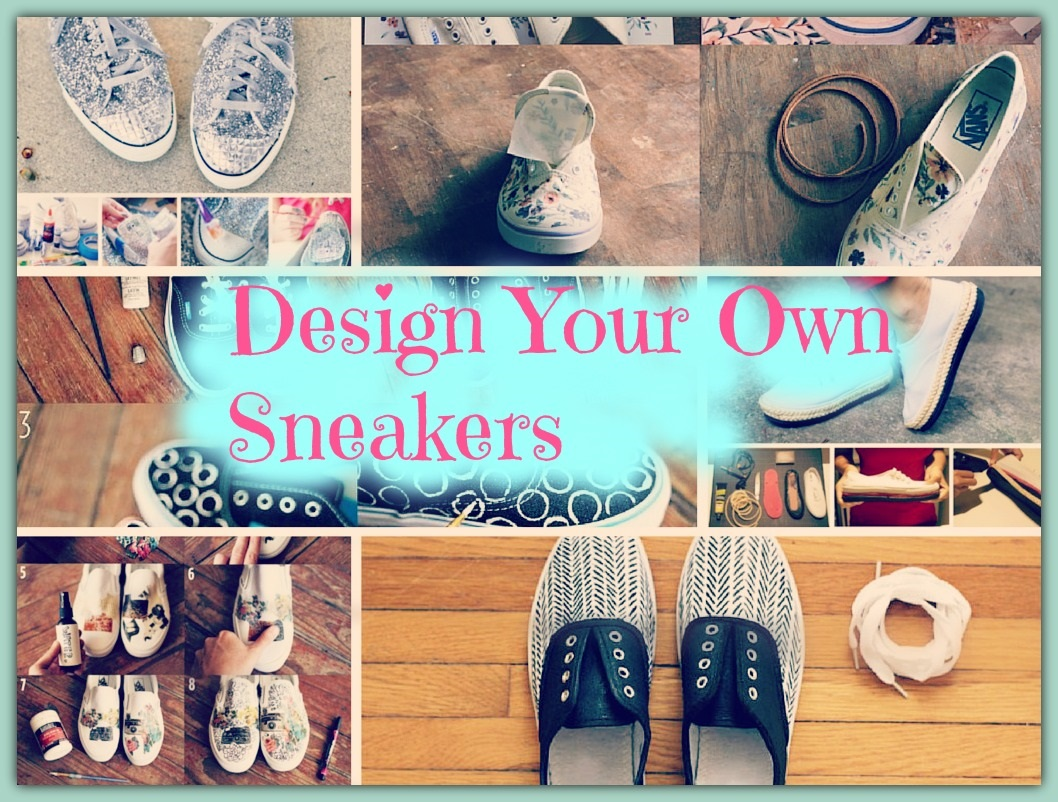 8 the most innovative diy ways to design your own shoes for Diy shoes design