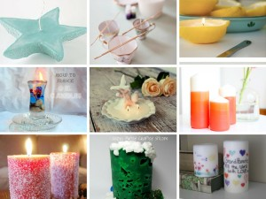 14 Creative DIY Homemade Candles Tutorials