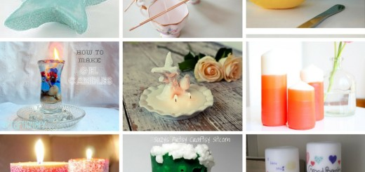 diy Tutorials How to Make Homemade Candles