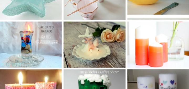 Diy Tutorials How To Make Homemade Candles