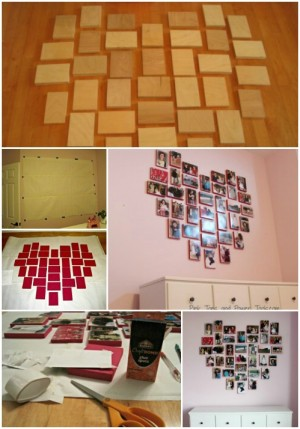 diy creative photo display ideas