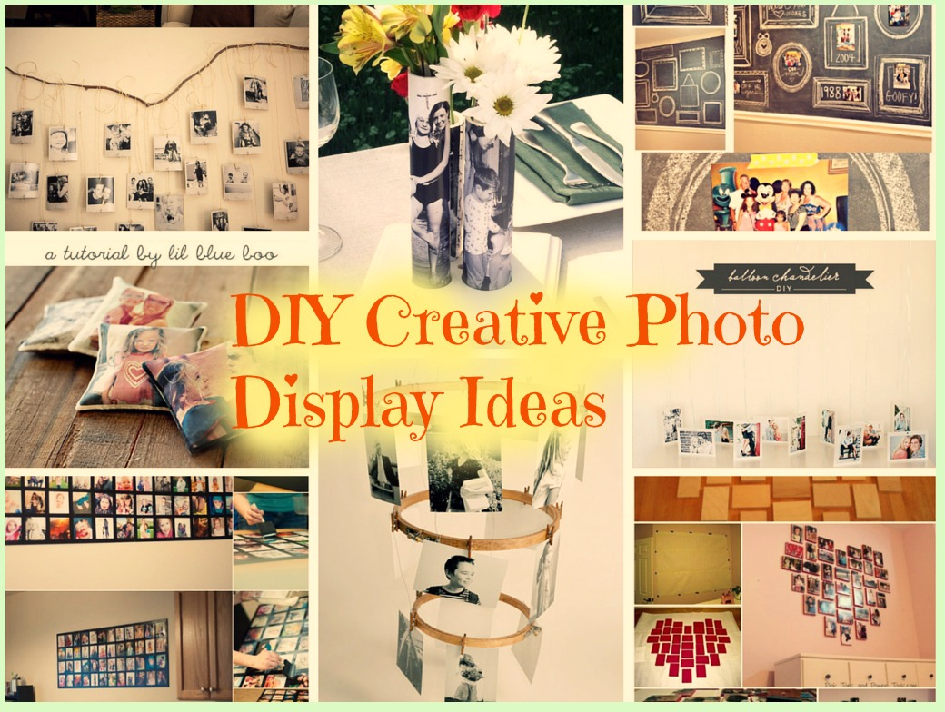 11 DIY Creative Photo Display Ideas To Try: Part 1