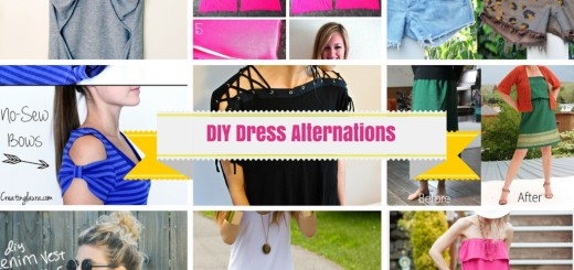 diy dress alterations ideas
