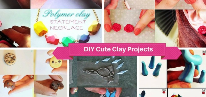 9 Cute And Easy Diy Polymer Clay Projects