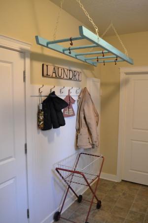 diy repurposed vintage ladder 5