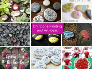 13 DIY Stone Painting and Art Ideas: Part 1