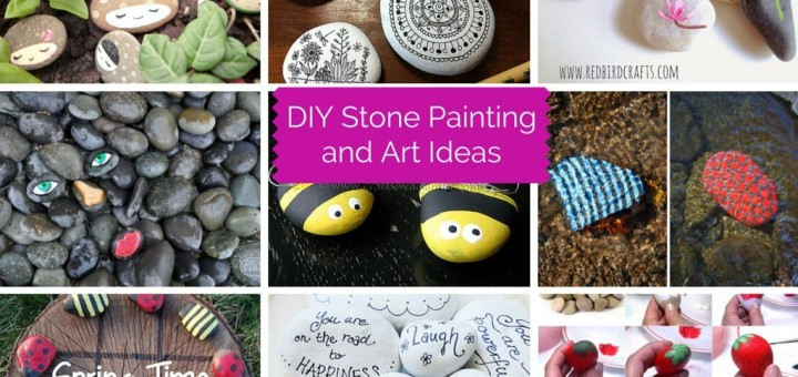 13 Diy Stone Painting And Art Ideas Part 1