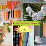 9 Ways To Make DIY Yarn Crafts from Your Leftover Yarn: Part 2