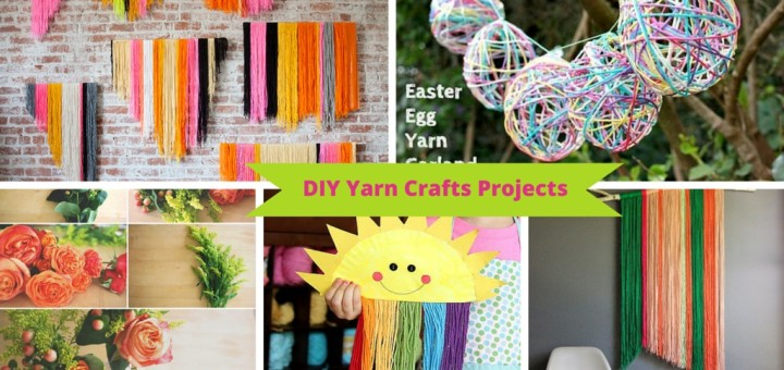 diy yarn crafts projects