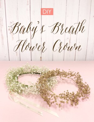 how to make a flower crown diy 2
