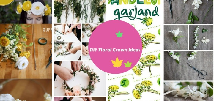 how to make a flower crown hairband diy
