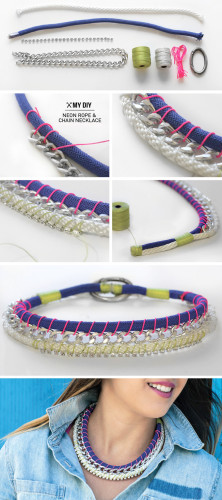 how to make a necklace 5