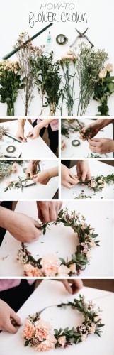 how to make flower headbands diy 2