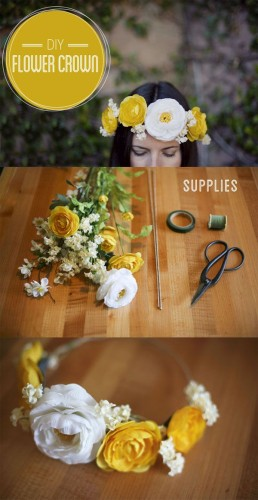 how to make flower headbands diy