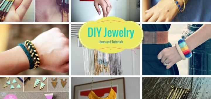 how to make homemade jewellery diy