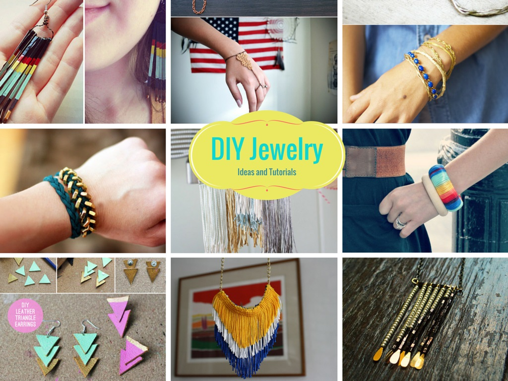 12 Stunning And Fun DIY Jewelry Ideas