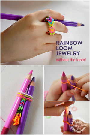 how to make loom bands 1