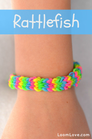how to make loom bands