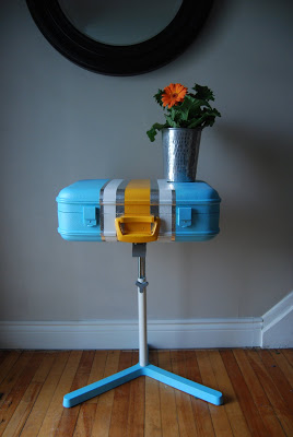 how to recycle a vintage suitcase diy 1