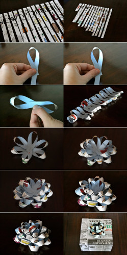 how to recycle paper diy paper craft ideas5