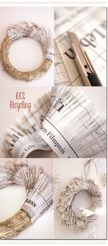how to recycle paper diy paper craft ideas6