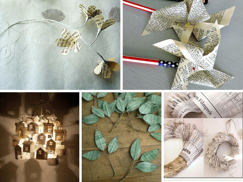9 easy diy paper craft ideas they are super creative for Homemade recycling projects