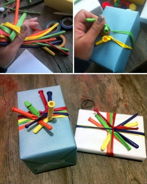 how to wrap a gift 1