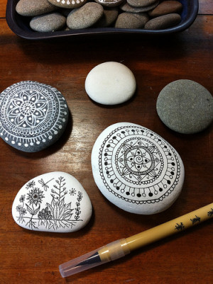 pebbles painting and art 1