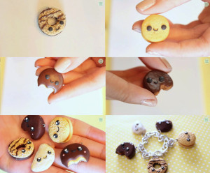 polymer clay jewellery charms