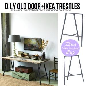reuse old wooden door